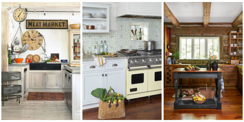 Decorating Ideas Share 18 Rustic Farmhouse Kitchen Ideas