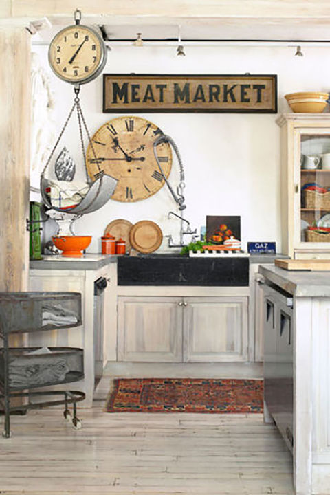 Country Farmhouse Kitchen Ideas 18 farmhouse style kitchens - rustic decor ideas for kitchens