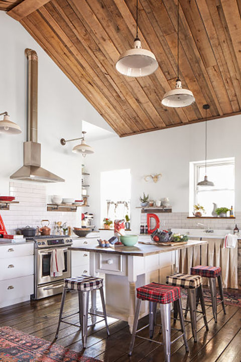 Rustic Cottage Kitchen Ideas Part - 21: Repurposed Items
