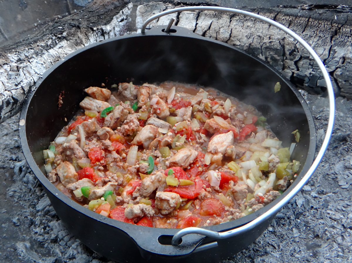 21 Easy Dutch Oven Camping Recipes - Campfire Cooking with ...