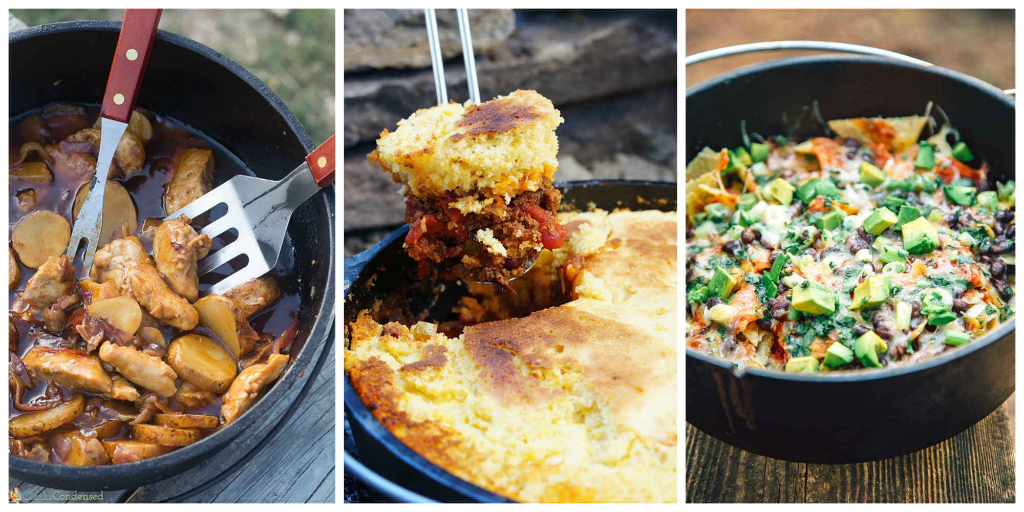 21 easy dutch oven camping recipes campfire cooking with a cast iron dutch oven - Easy oven dinner ...