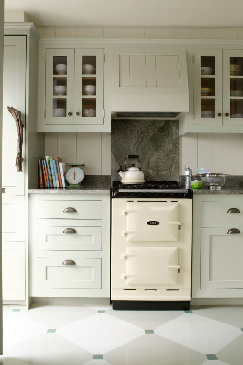 10 green kitchen ideas best green paint colors for kitchens for Retro kitchen designs rustenburg
