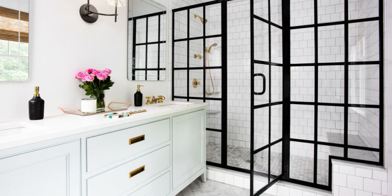 These Are the Most Beautiful Shower Doors We've Ever Seen