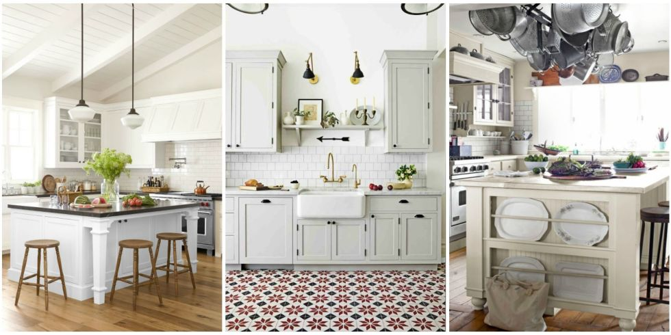 10 Best White Kitchen Cabinet Paint Colors - Ideas for Kitchen ...