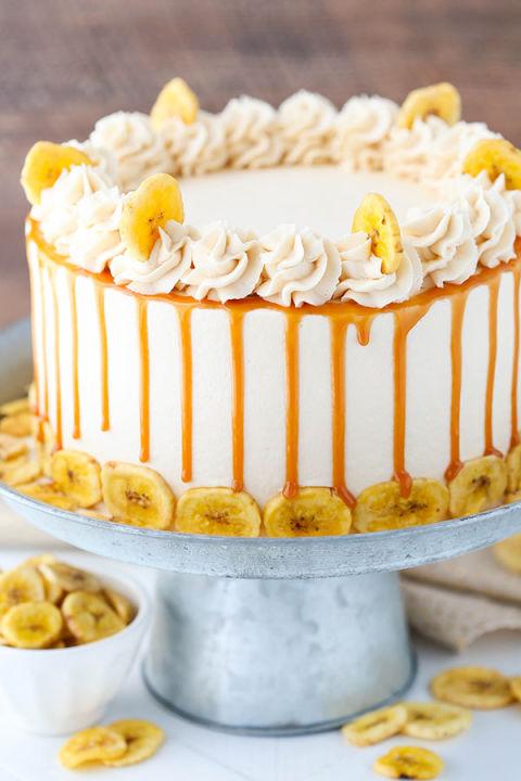 Banana Caramel Cake Country Living