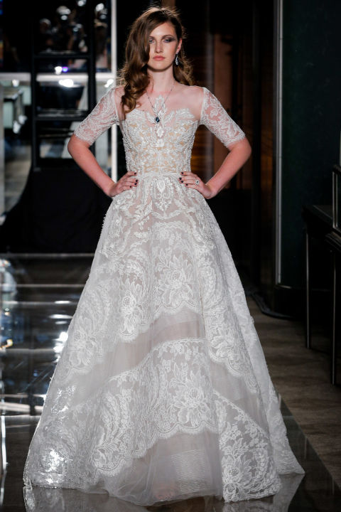 25 gorgeous country style wedding dresses 2017 rustic dress 6 church wedding dress reem acra junglespirit Choice Image