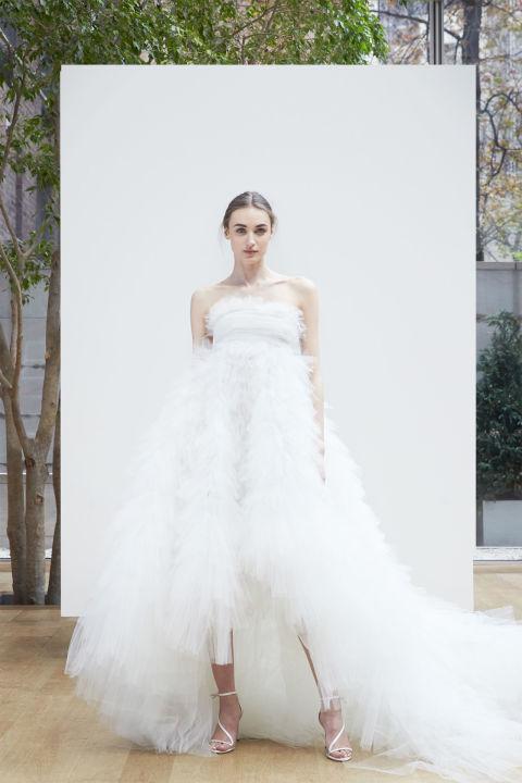 2 Barn Wedding Dress Oscar De La Renta