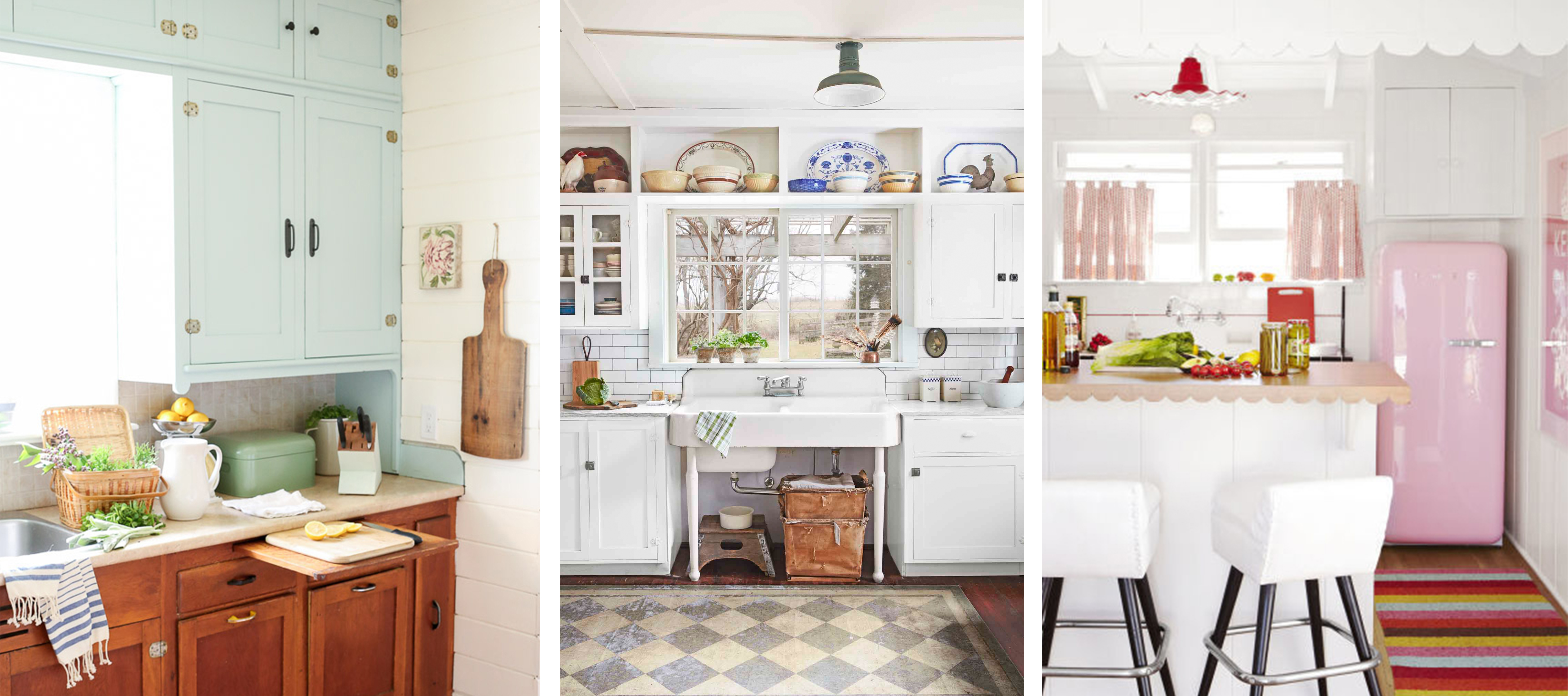 Kitchen Ideas: 20 Vintage Kitchen Decorating Ideas