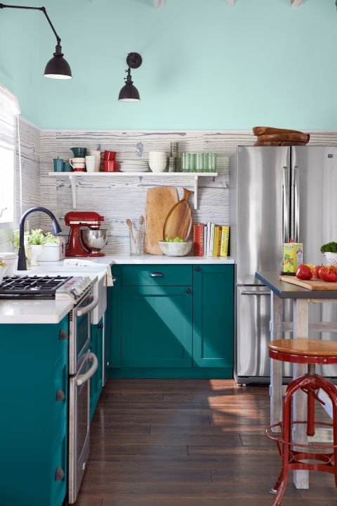 Designers Are Loving This Color For Kitchen Cabinets Right Now