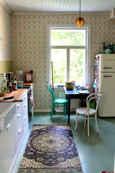 20 Vintage Kitchen Decorating Ideas Design Inspiration for Retro