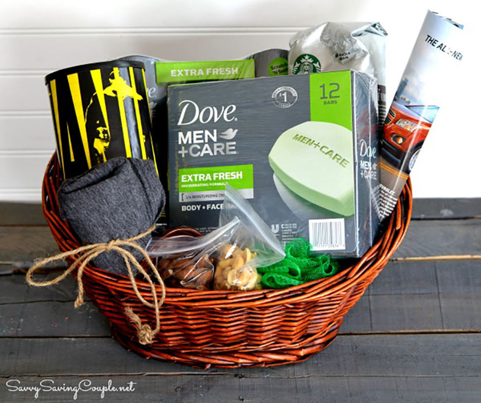 DIY Gift Basket Ideas for Father's Day - InspireWomenSA