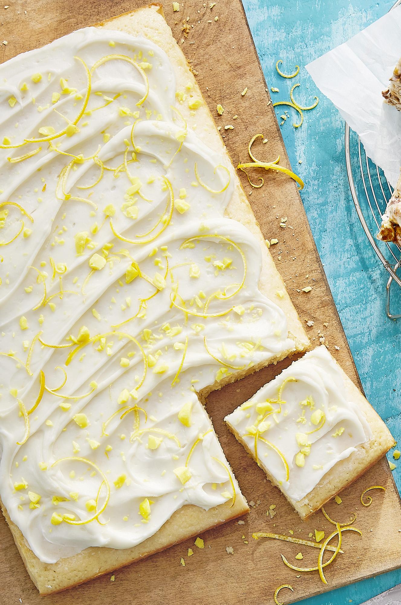Best Duke S Lemon Drop Sheet Cake Recipe How To Make
