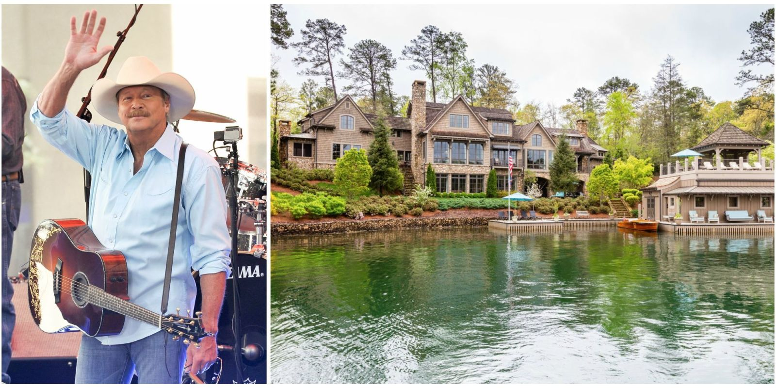 Alan Jackson Is Selling His Rustic Lakefront Home For 64