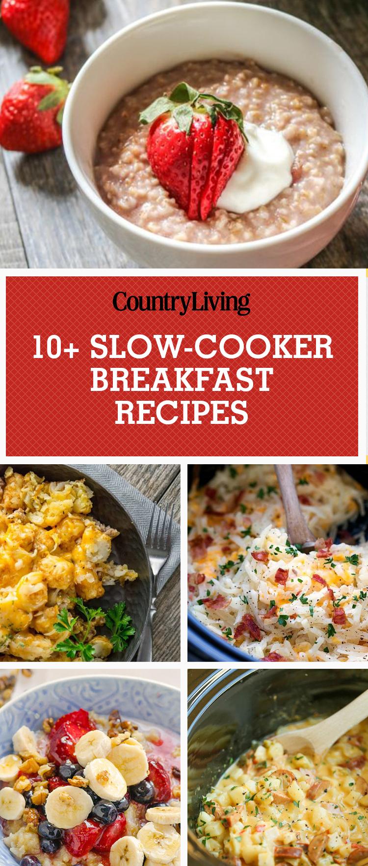11 slow cooker breakfast recipes crock pot breakfast recipes for Slow cooker breakfast recipes for two