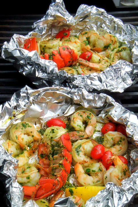 how to cook fish in foil packets
