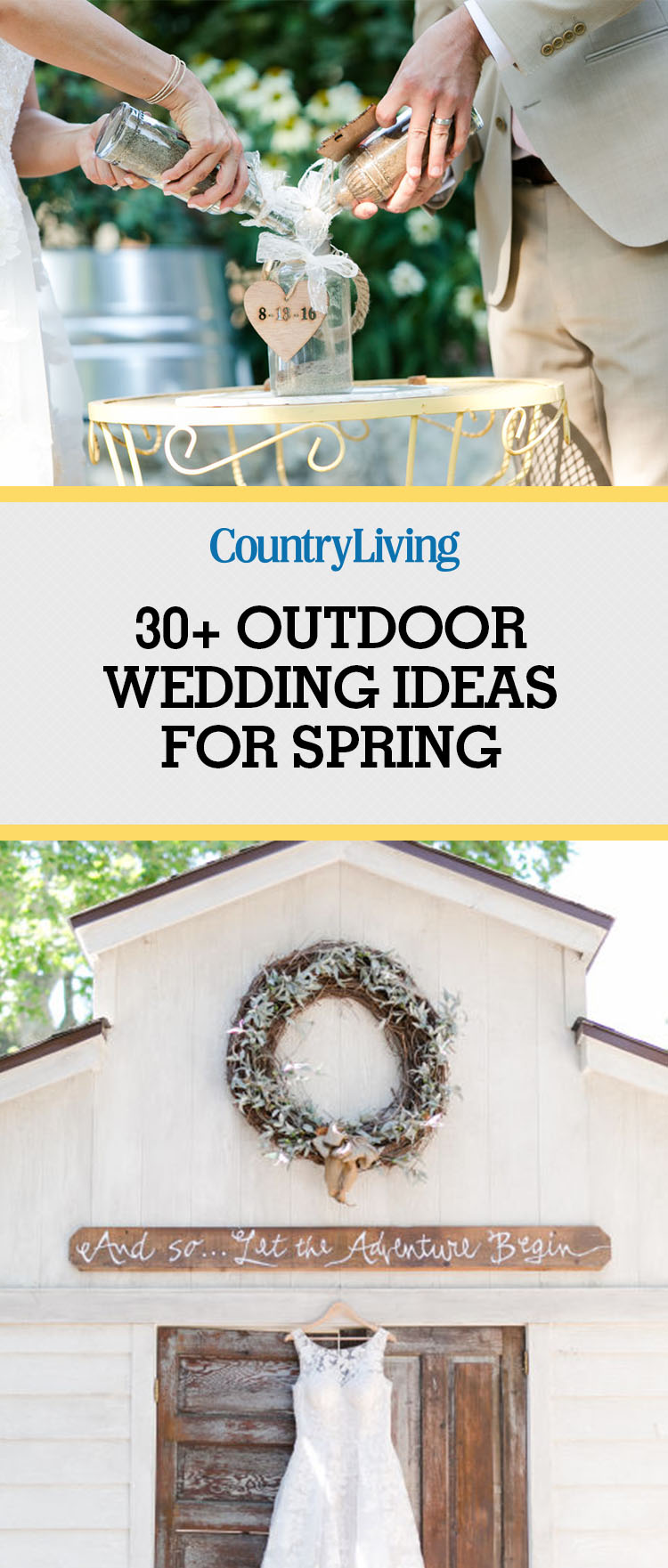 31 Outdoor Wedding Ideas Decorations for a Fun Outside Spring