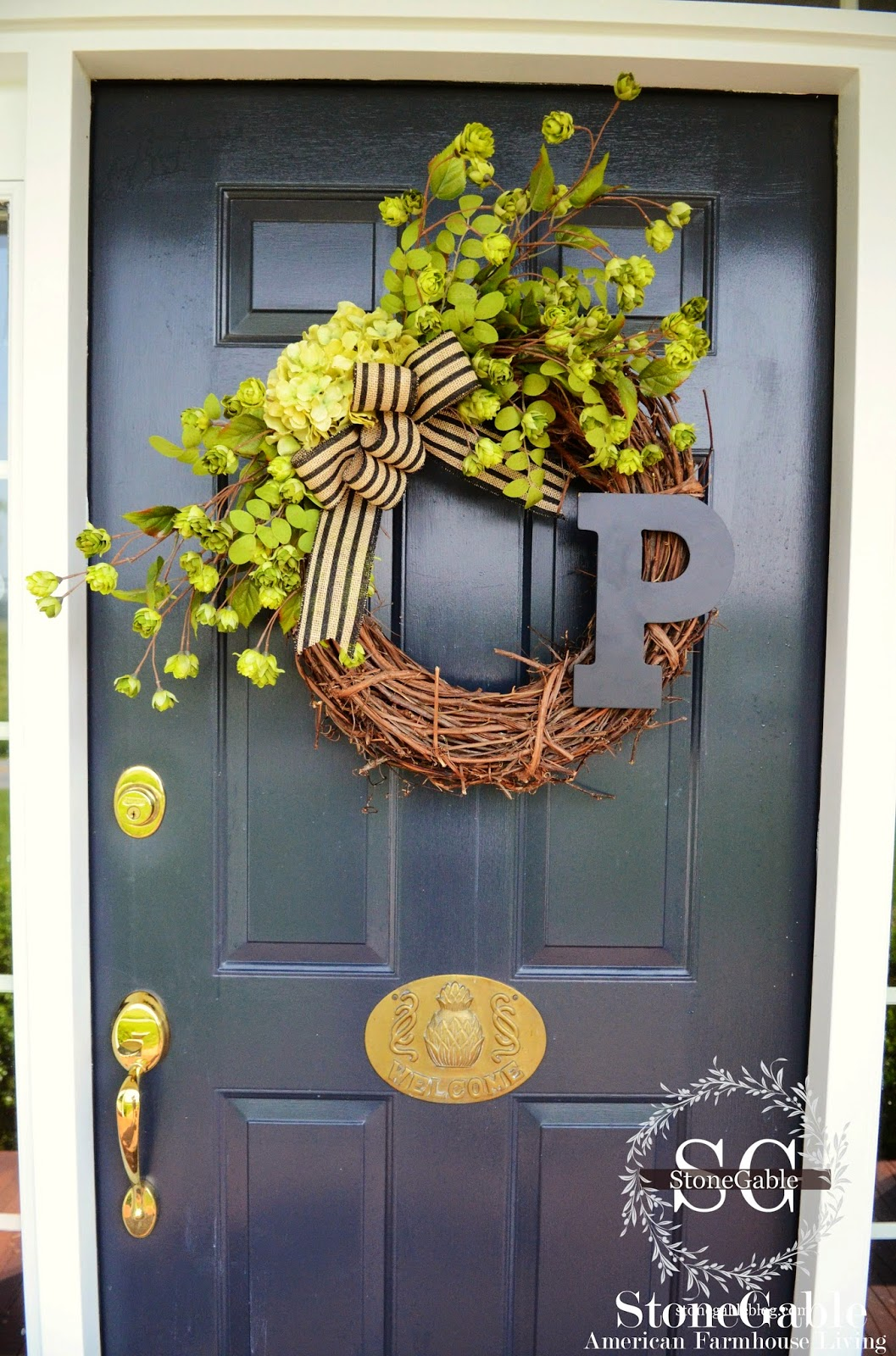 summer wreaths for front door10 DIY Summer Wreath Ideas  Outdoor Front Door Wreaths for Summer