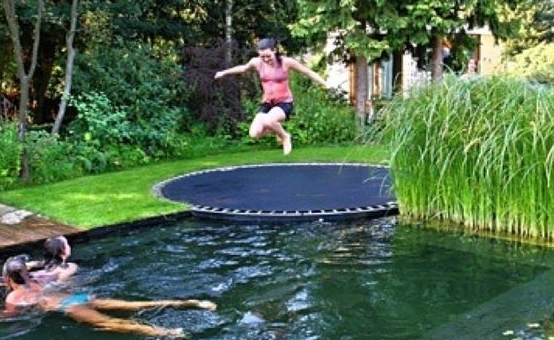 in ground trampoline diy how to install an in ground trampoline. Black Bedroom Furniture Sets. Home Design Ideas