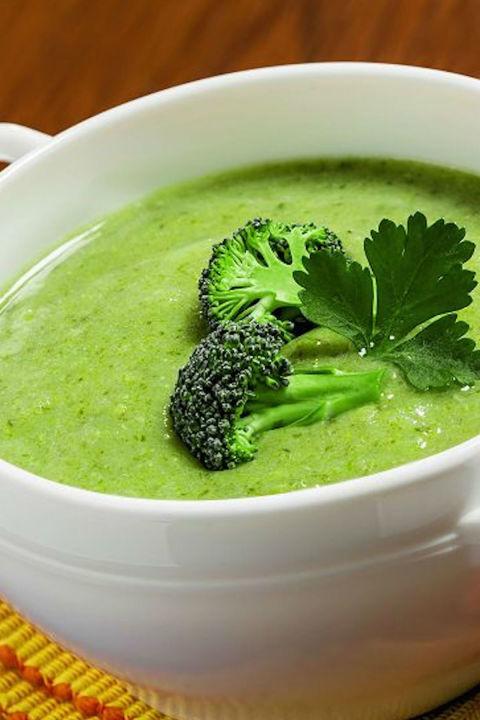 Creamy Broccoli Turmeric Soup