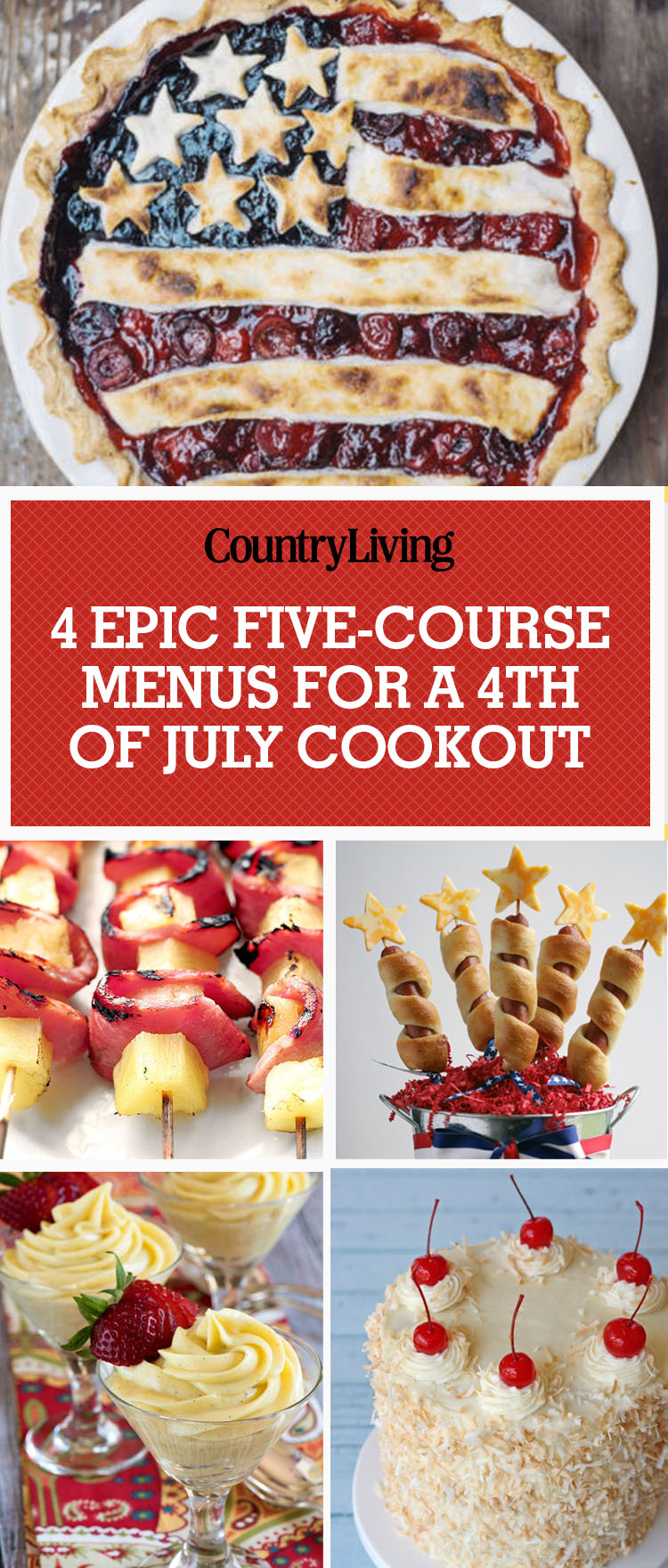 4th of july menu ideas 4 five course fourth of july for 5 course meal ideas