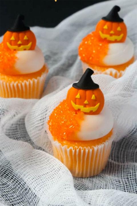 30 Halloween Cupcake Ideas Easy Recipes For Cute