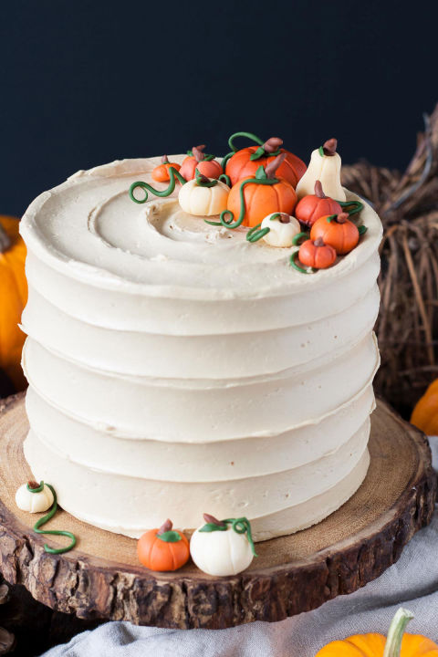 Cake Art Decor Zeitschrift 2018 : Pumpkin Cake Decorating Ideas Best Home Design 2018