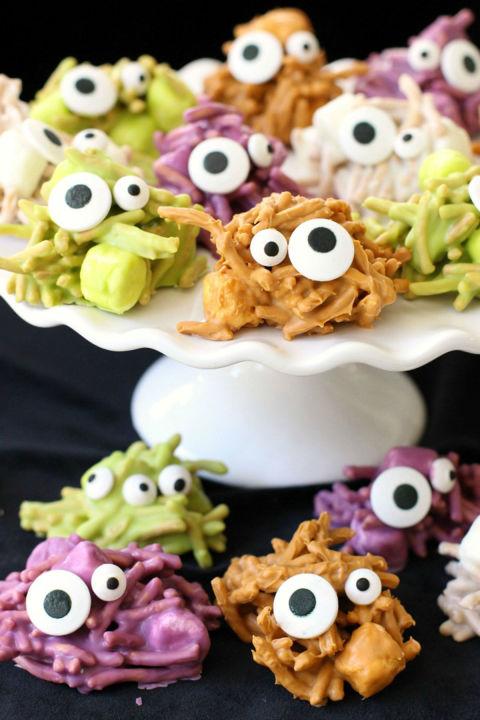 31 halloween snacks for kids recipes for childrens halloween snack foods. Black Bedroom Furniture Sets. Home Design Ideas