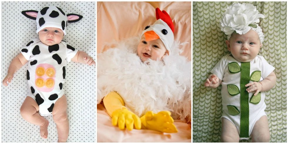 15 photos - Diy Halloween Baby Costumes