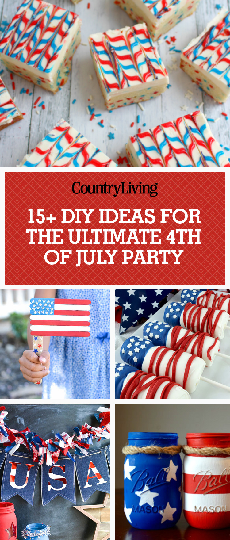 16 best 4th of july party ideas games diy decor for a fourth of july cookout. Black Bedroom Furniture Sets. Home Design Ideas