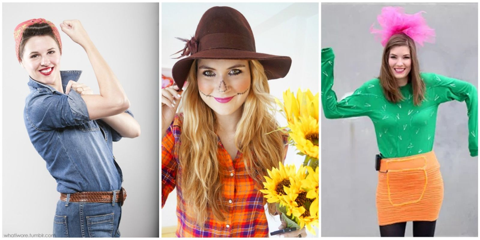 21 diy halloween costumes for women easy last minute for Simple diy halloween costumes for women