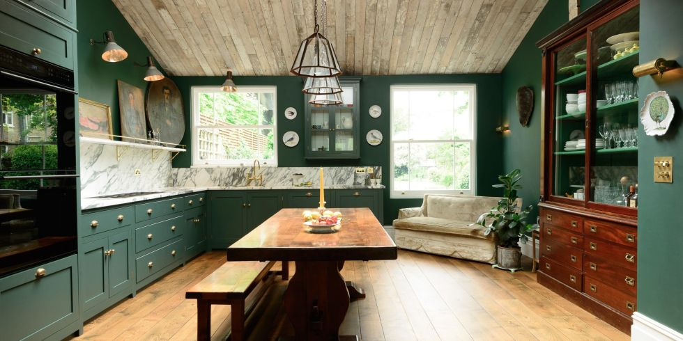 Is it time to go beyond bar stools and dining chairs. Furniture In Kitchens Is Officially a Thing  and We Don t Hate It