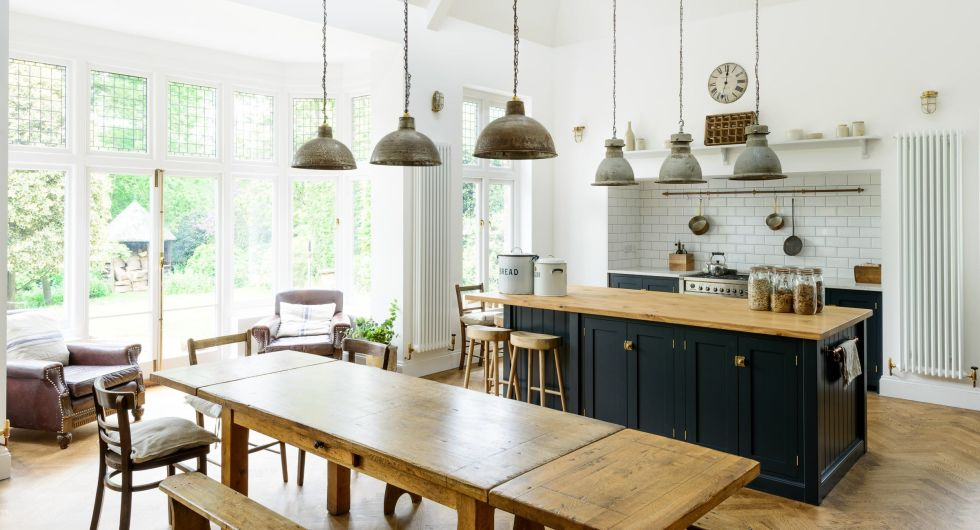 modern rustic kitchen decor