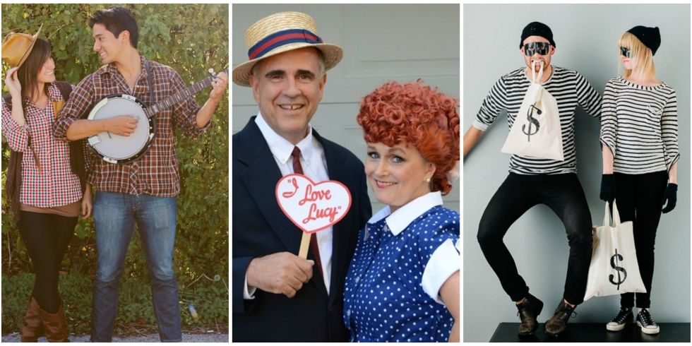 10 DIY Couple Halloween Costumes - Easy Homemade Costume Ideas for ...