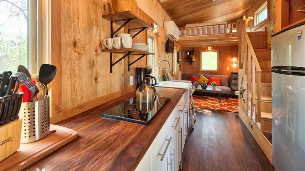 small yet spacious - Tiny House Interior Design Ideas