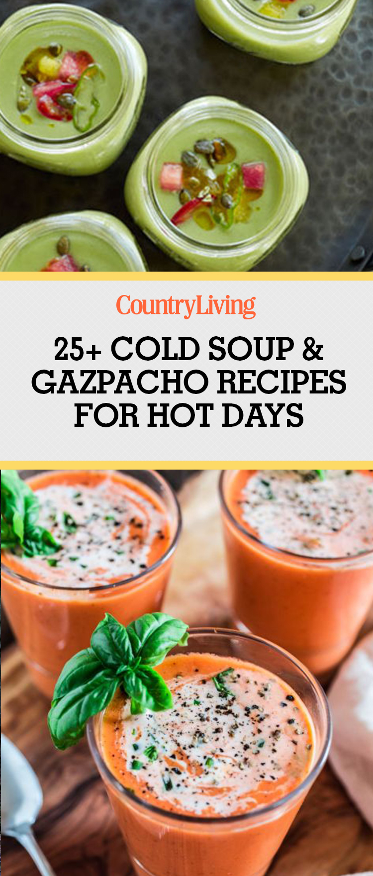 29 Cold Summer Soups and Gazpacho