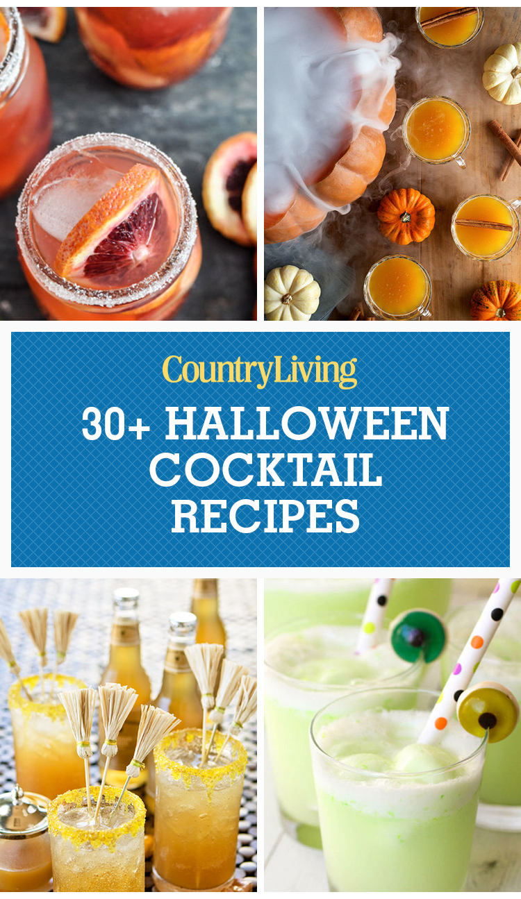 32 Easy Halloween Cocktails Drinks Best Recipes For