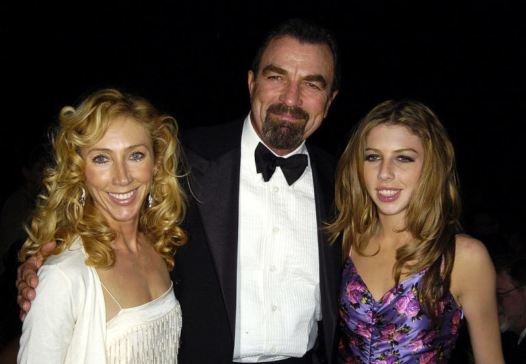 Tom Selleck with wife Jillie Mack and daughter Hannah