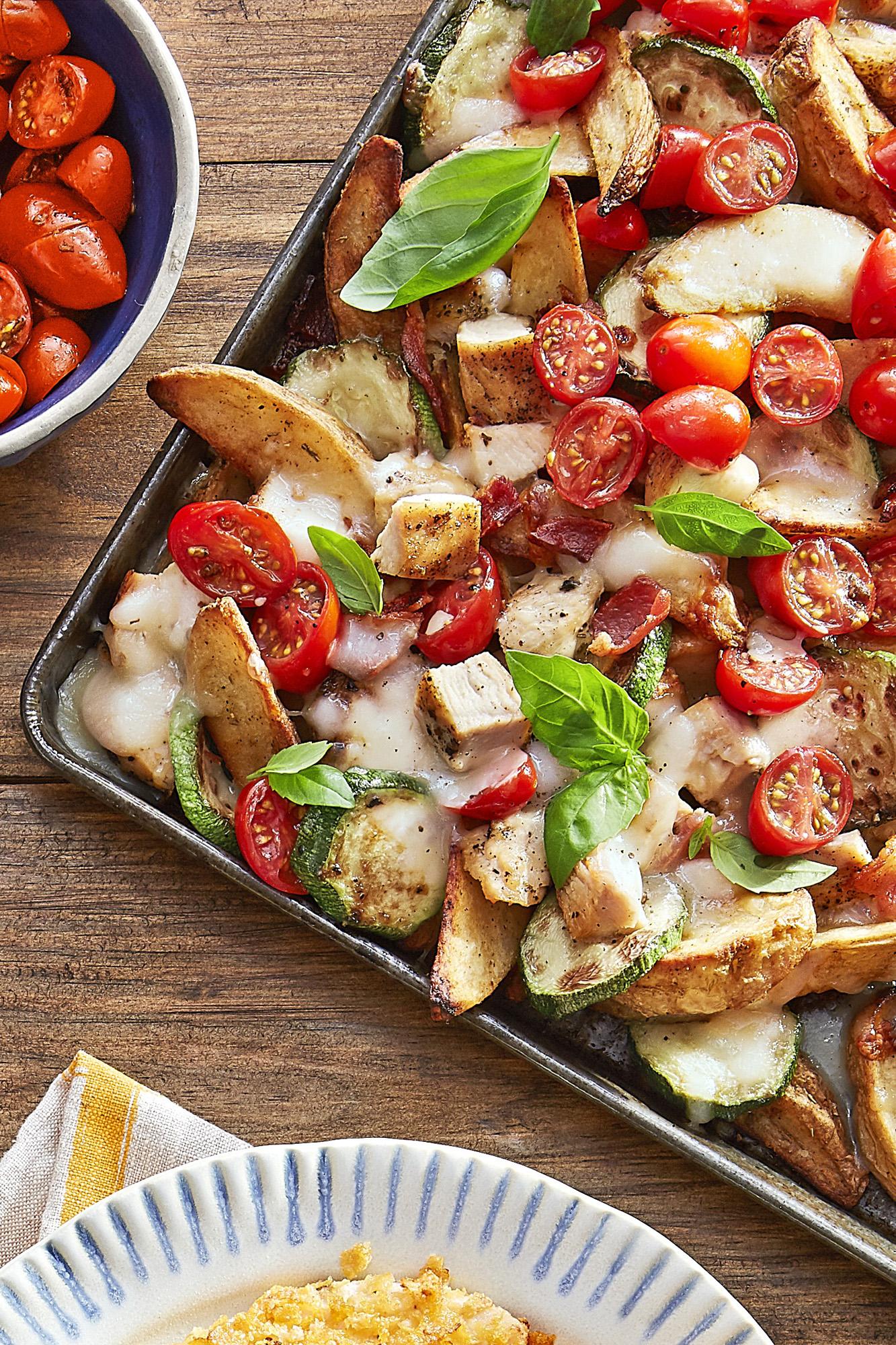 Best Italian Potato Wedge Nachos Recipe - How to Make