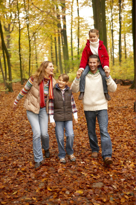 When your Thanksgiving feasting comes to an end, head outdoors to stretch your legs (and walk off all that turkey!).