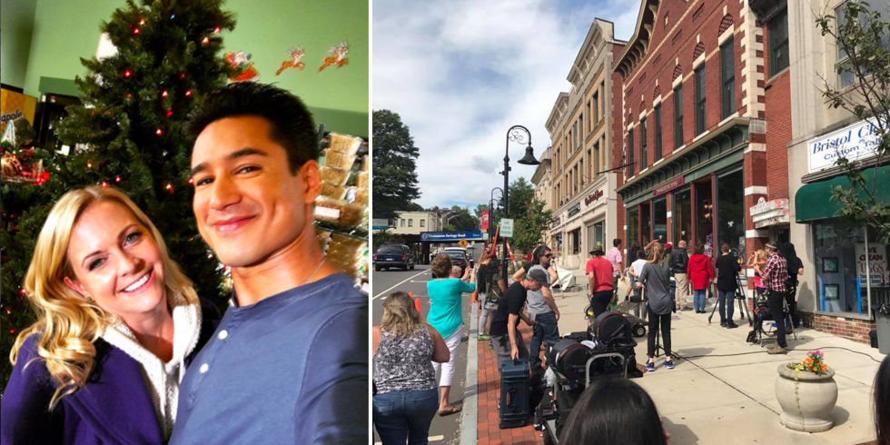 Mario Lopez & Melissa Joan Hart Are Filming a Lifetime Christmas ...