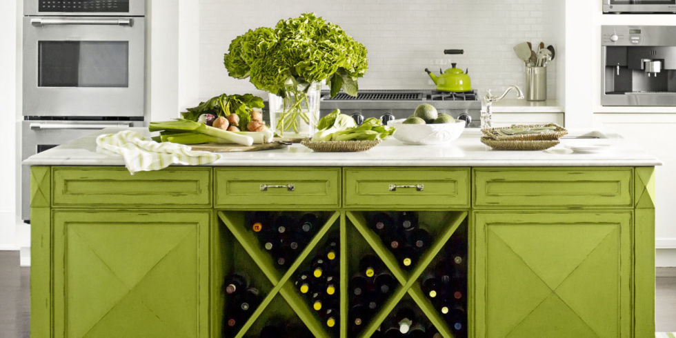 Green Kitchen Decorating Ideas Green Kitchen Decor - Green kitchen accessories ideas