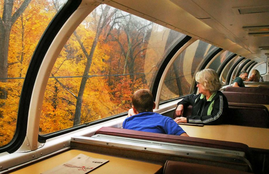 Amtrak Great Dome Train Ride 2017 Scenic Adirondack