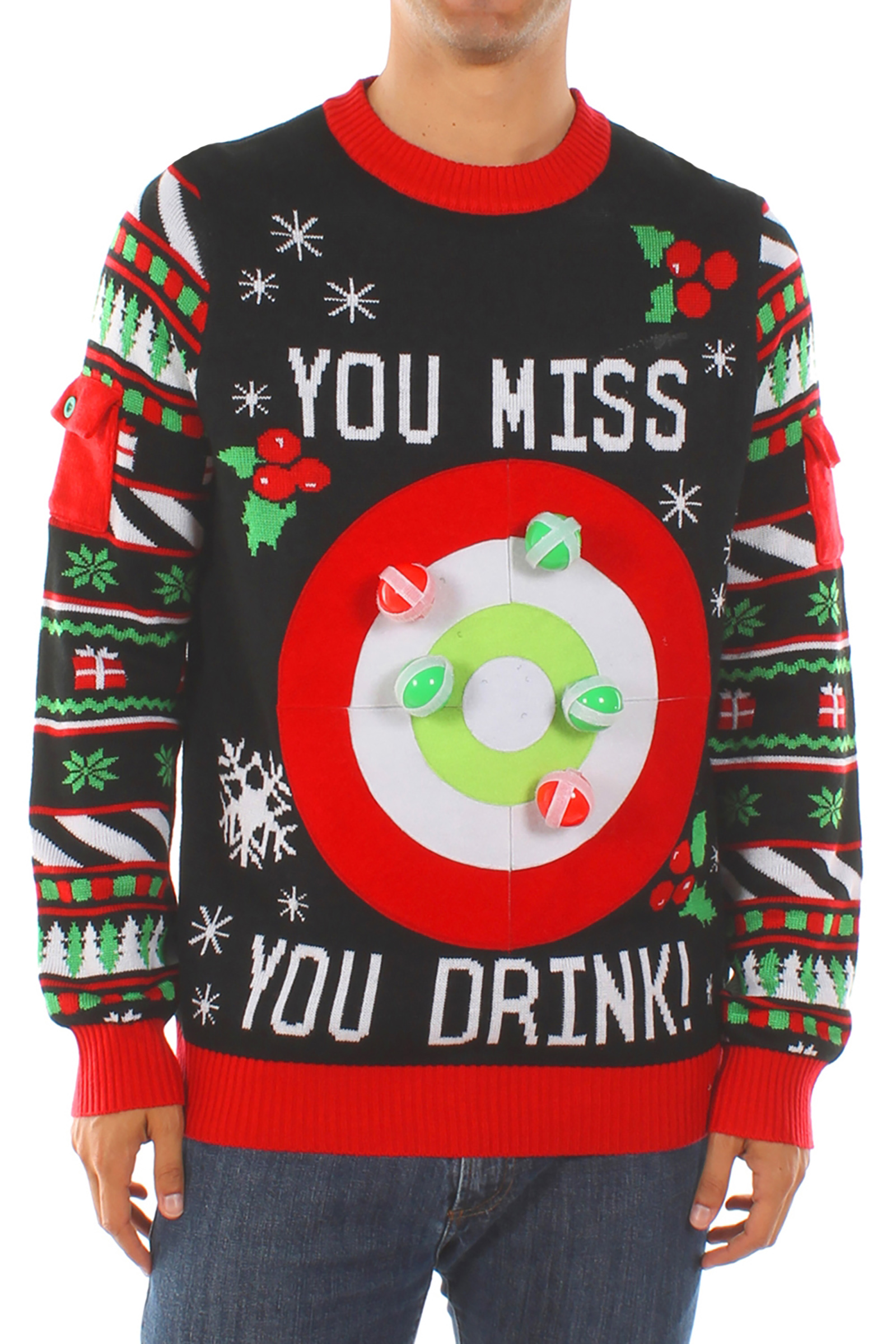 15 Best Ugly Christmas Sweaters for Women - Funny Holiday Sweater ...
