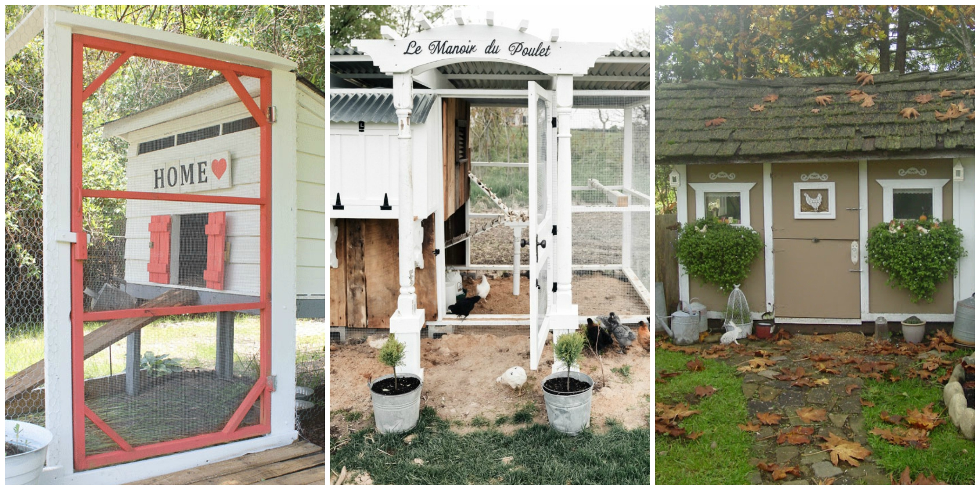 These Smashing Backyard Ideas Are Hot And Happening: Chicken Coop Decorating Ideas