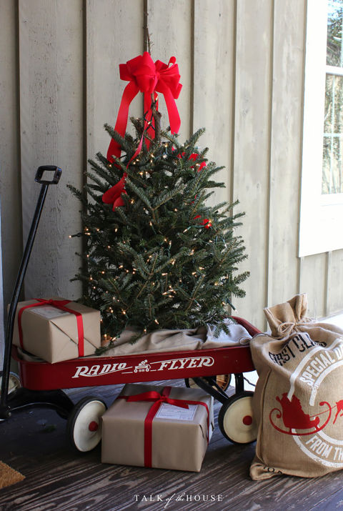 Front Porch Christmas Decorating Ideas 32 outdoor christmas decorations - ideas for outside christmas