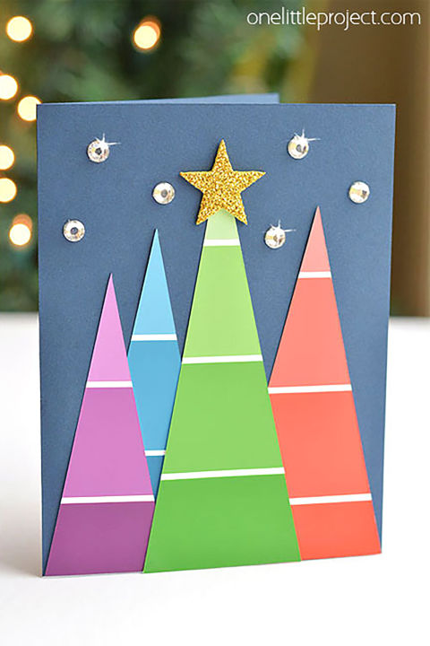15 DIY Christmas Card Ideas - Easy Homemade Christmas Cards We're ...