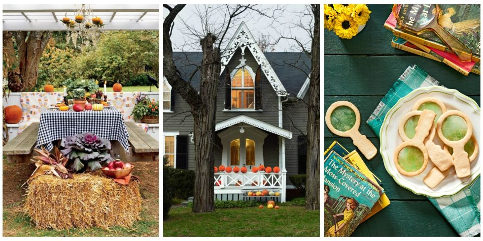 13 photos - Decorating For A Halloween Party