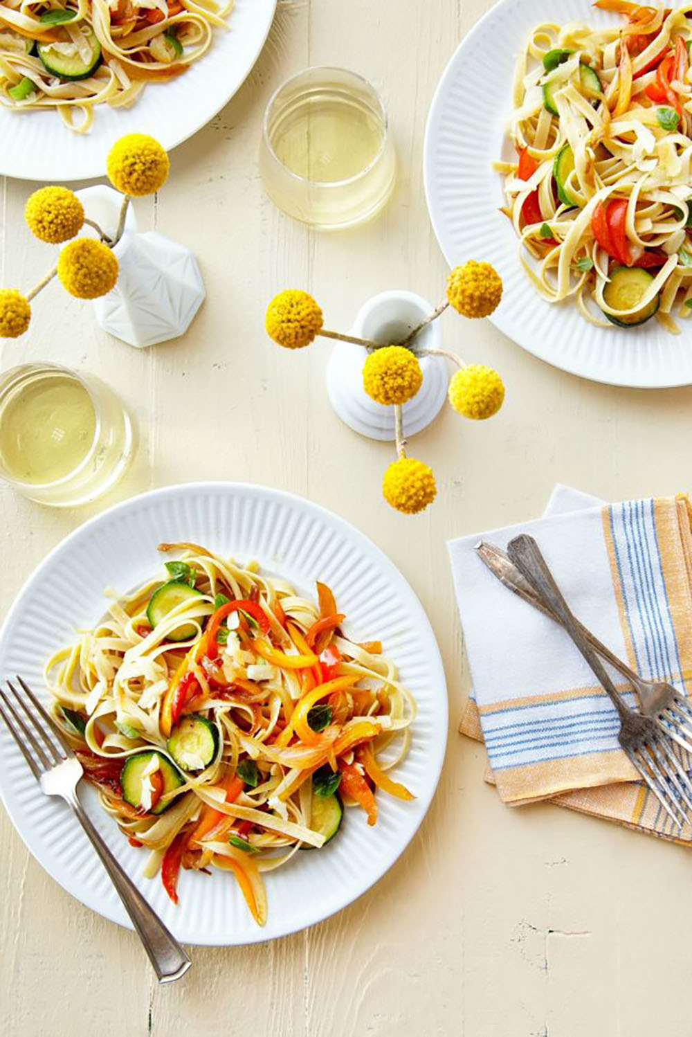 Light Pasta Dinner Ideas