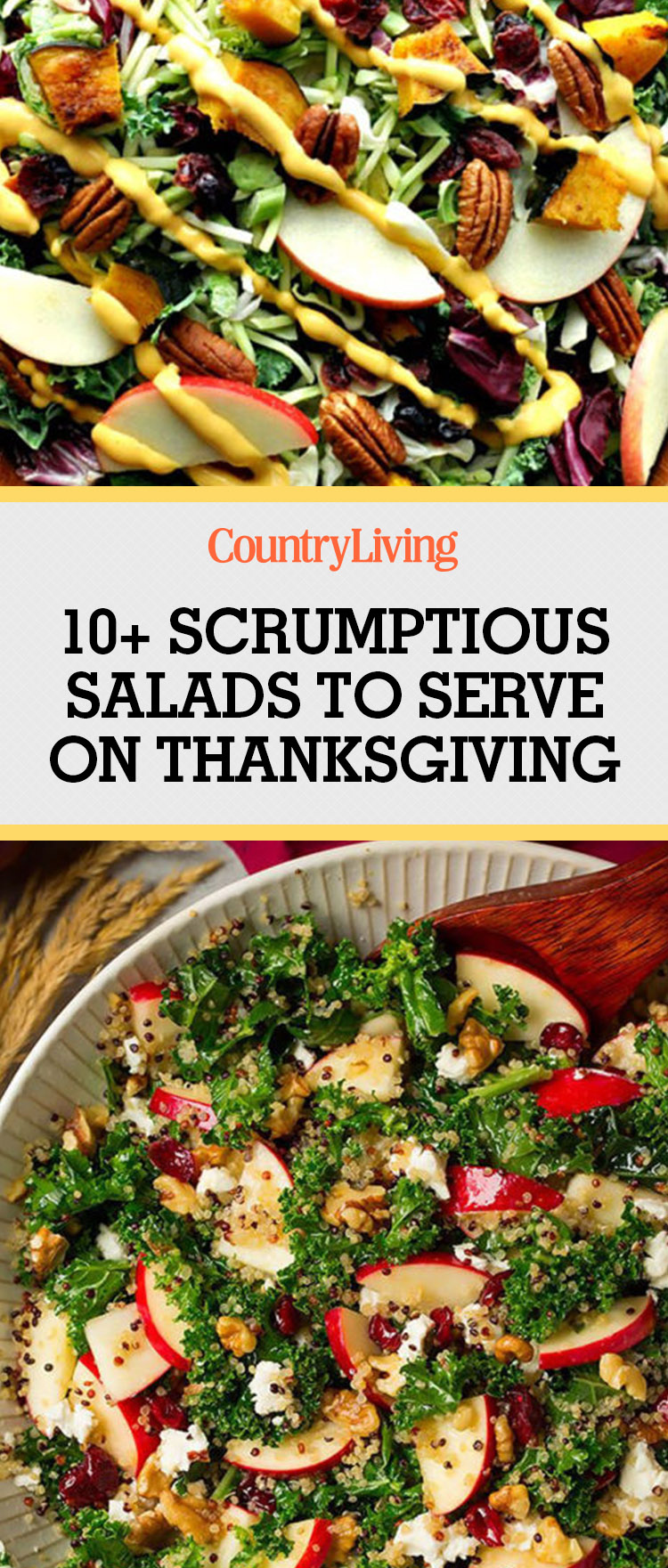 11 easy thanksgiving salad recipes best side salads for for Salad for thanksgiving best recipes