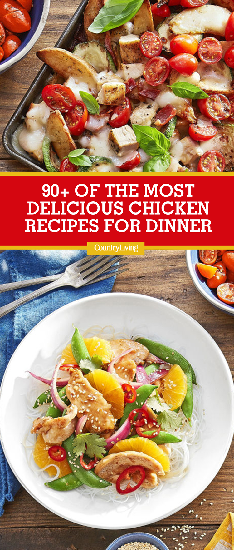 chicken recipes dinner country living easy food dishes recipe dinners